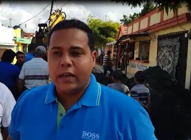 Moradores del Sector El Carmen contentos con el Alcalde Jaime Camilo