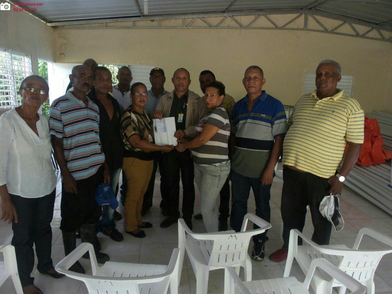 Alcaldía Entrega Partida de Presupuesto Participativo 2018 a la Comunidad de Los  Cafés