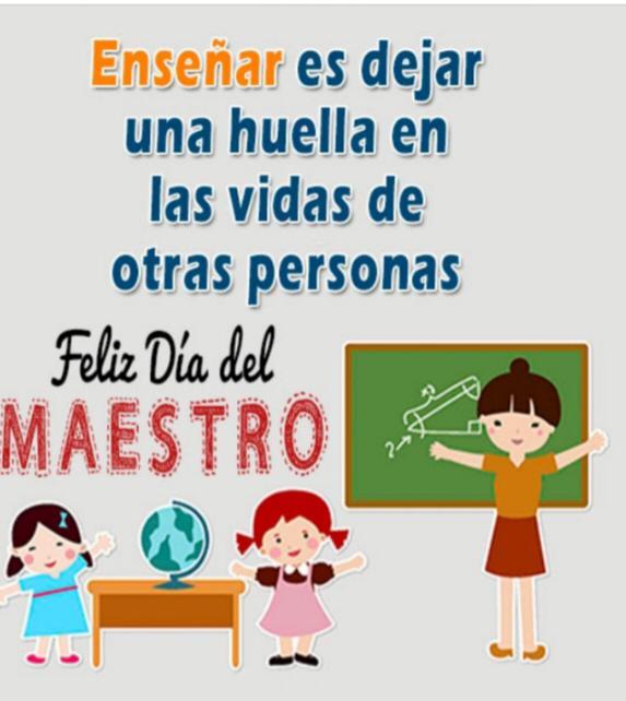 Mensaje del Alcalde de Castillo a los Maestros y Maestras en su Día.