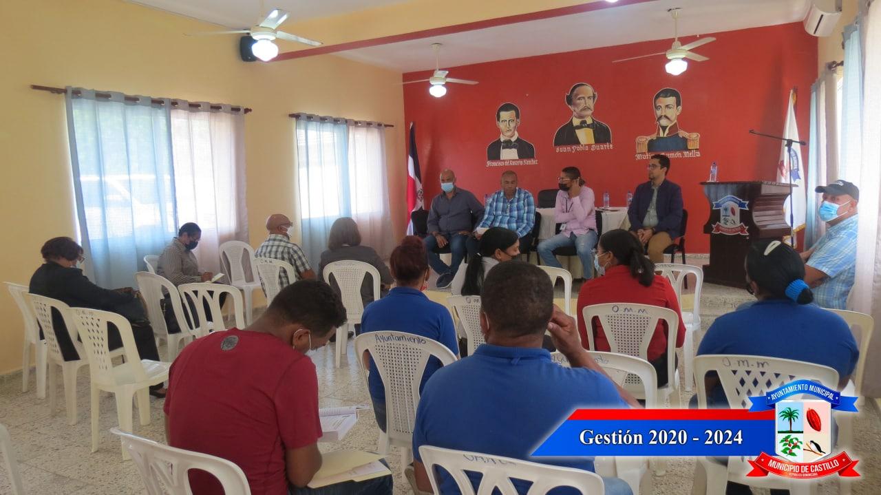Reunión con el comité de seguimiento para resaltar los avances que dio la Jornada de Inclusión social de los Proyectos Estratégicos y Especiales de la Presidencia (PROPEEP).