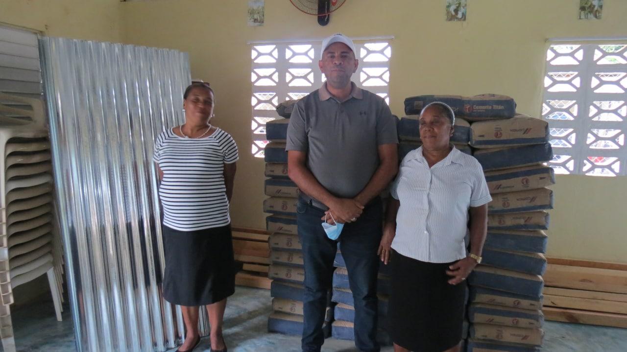 Entrega del Presupuesto Participativo a la Comunidad de La Ceibita